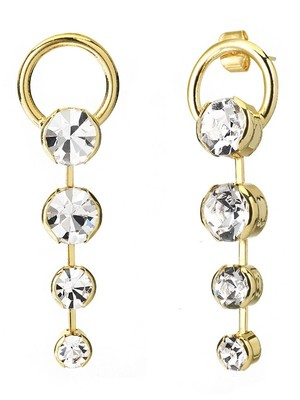 [엄정화 착용][M.M.D]Chandelier drop earrings (Gold)