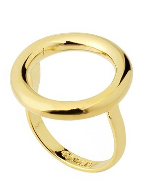 [M.M.D]Round ring (Gold)