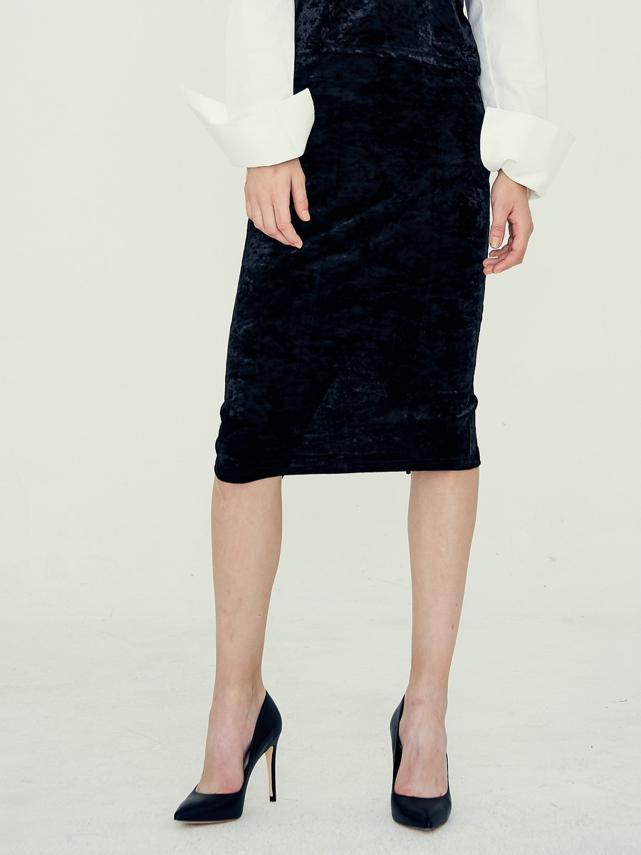 [LARTIGENT] LE LONG SKIRT (BLACK)