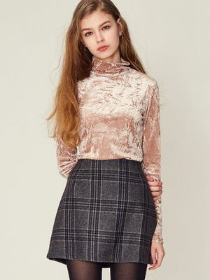 [LARTIGENT] 17W CK SKIRT (BLACK)