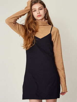 [LARTIGENT] 17W GL TURTLENECK (GOLD)