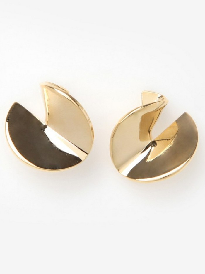 [당일배송][J.GRACELET] Mini Metal Earrings (Gold)