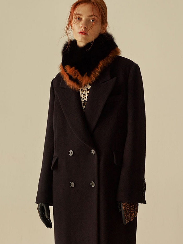 [OH.L]WOOL CASH OVERSIZE TAILOR COAT_BLACK